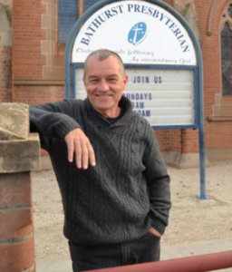 Bryson Smith has served in regional ministry for 30 years. He is currently on the ministry team at Bathurst Presbyterian Church